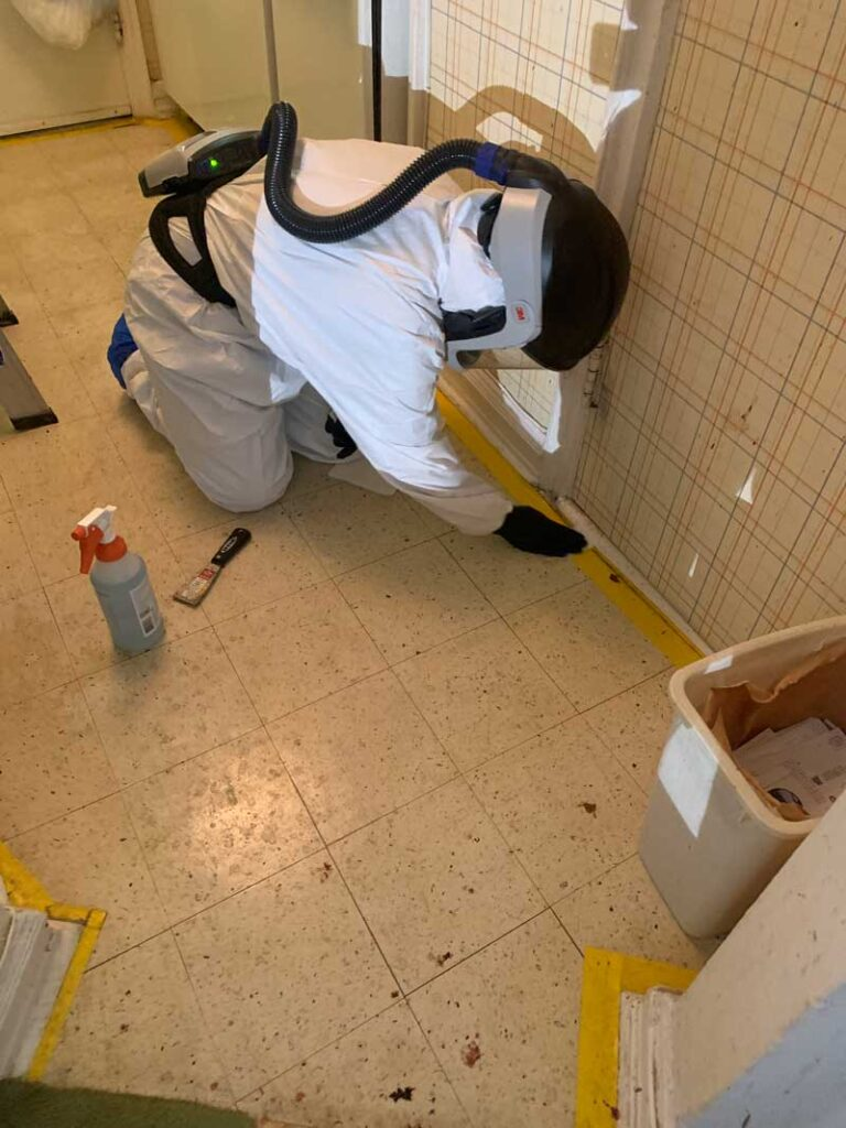 ITS Environmental Services Disinfection Job