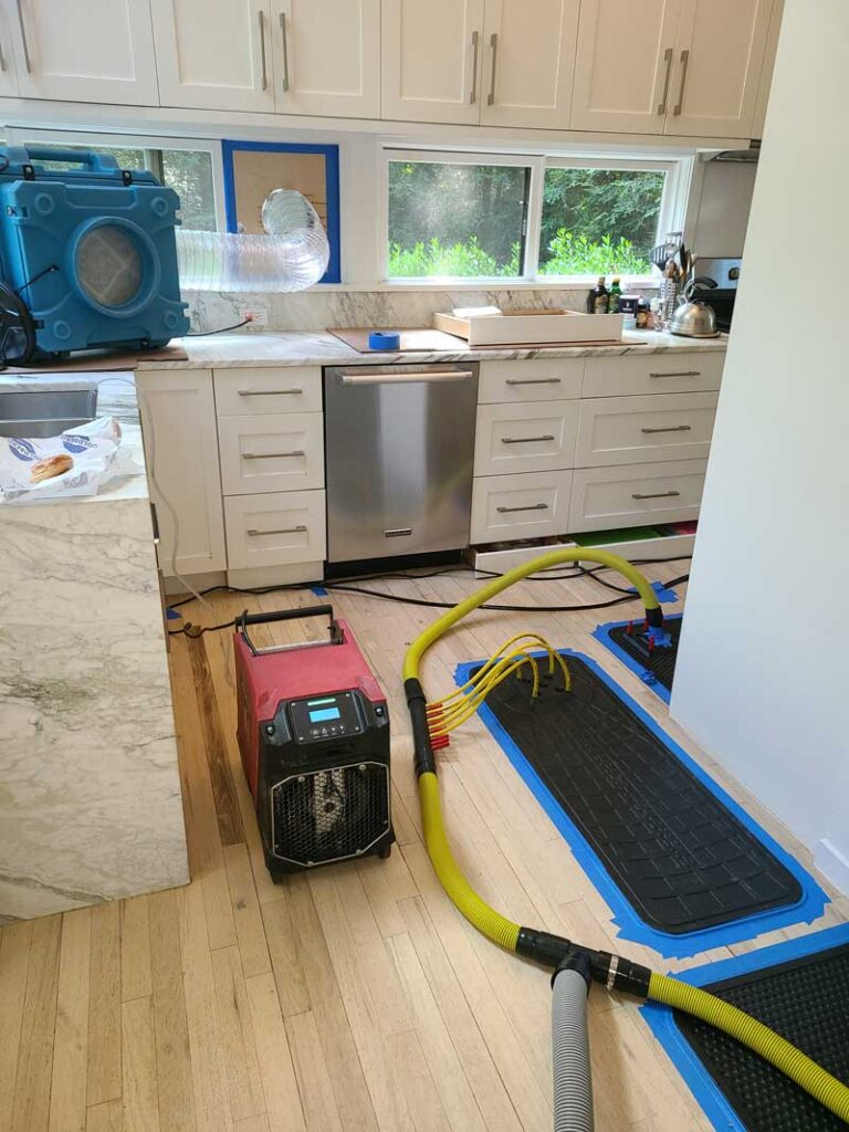 ITS Environmental Services Flood Damage Restoration Job